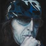 """Rock-Star of art"", Acryl auf Leinwand, 70 X 60 cm"